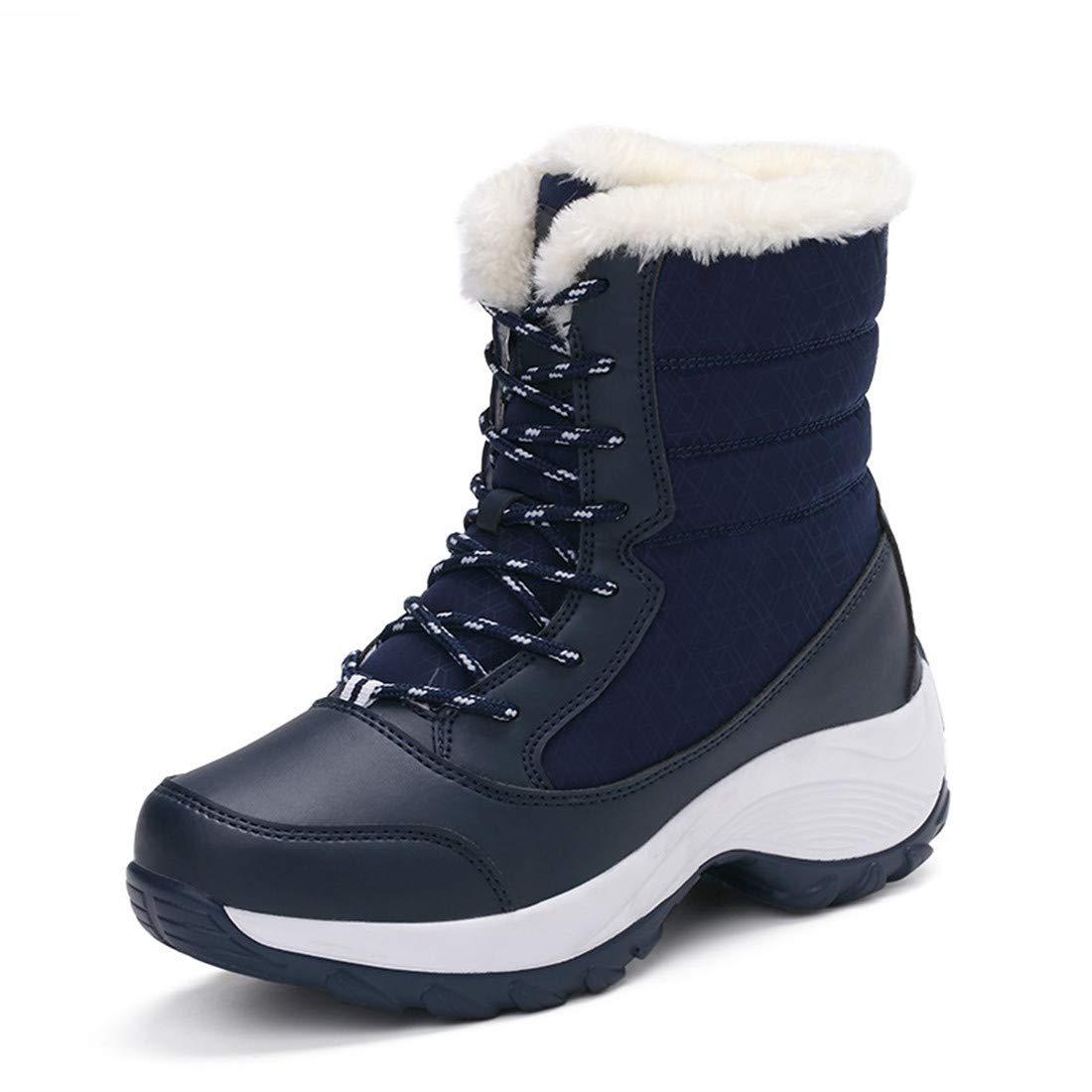GGG-GCH GHH Wasserdichte Schnee Stiefel hohe Hilfe Plus SAMT warm
