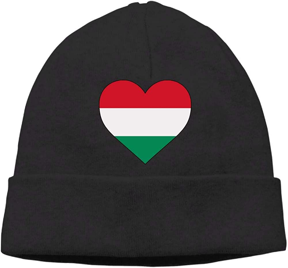 Unisex Hungary Heart Love Knit Cap Fashion Skiing Cap