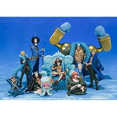 One Piece: Roronoa Zoro 20th Anniversary Ver Figuarts Zero PVC Figure by Bandai: Toys & Games