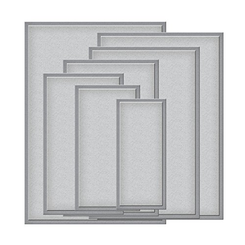 Rectangles Die Template - Spellbinders S6-002 Nestabilities Matting Basics B Die Templates, 5 by 7-Inch