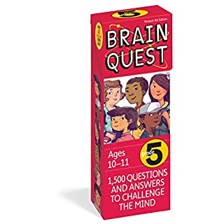 Brain Quest Grade 5, revised 4th edition: 1,500 Questions and Answers to Challenge the Mind (Brain Quest Decks)
