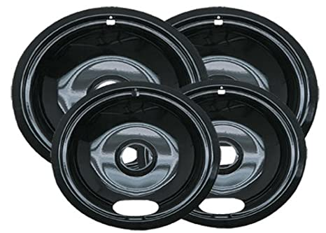Drip Pans Reflector Bowl 4pc Set 6 And 8 Frigidaire