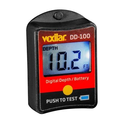 Vexilar Digital Depth And Battery Gauge DD-100