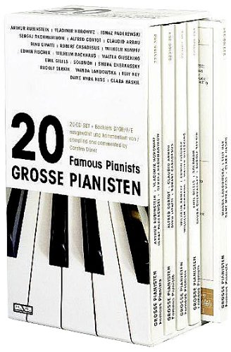(20 Famous Pianists Play Outstanding Classical Music )