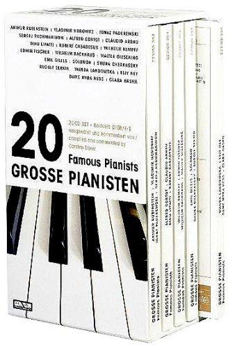 20 Große Pianisten - Arthur Rubinstein, Vladimir Horowitz, Ignaz ...