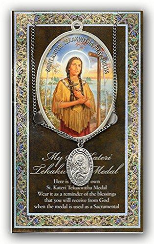 (14 5/18) Saint Kateri TEKAKWITHA 1.125