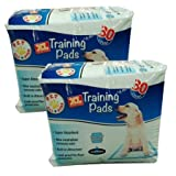 Training Pads Extra Large Puppy Pad 26 inch x 30 inch 30 count, 2 Pack Review