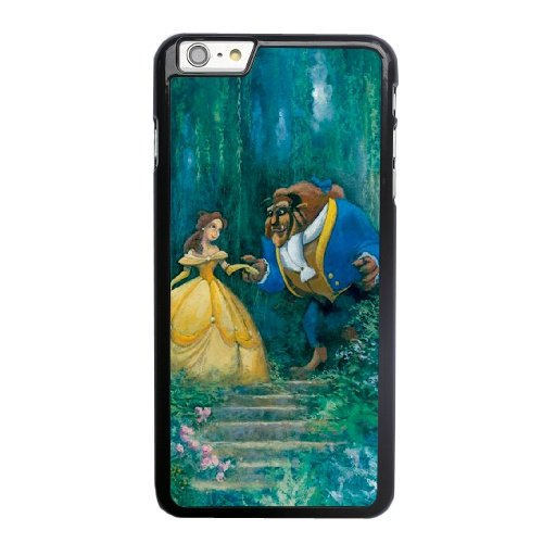 Coque,Coque iphone 6 6S 4.7 pouce Case Coque, Beauty And The Beast 2 Cover For Coque iphone 6 6S 4.7 pouce Cell Phone Case Cover Noir