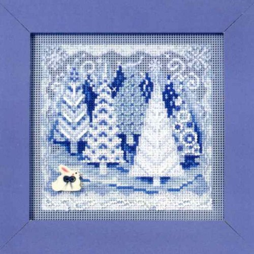 Winter Wonderland Beaded Counted Cross Stitch Christmas Kit Mill Hill MH149303 Buttons & Beads 2009 Winter
