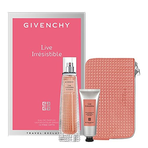 Irresistible 2.5 Ounce Edp (Live Irresistible Travel Retail Exclusive Set EDP 2.5 oz + Body Cream + Trousse Pouch)