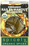 Spicely Organic Seasoning, Ras El Hanout Salt Free, 0.6 Ounce