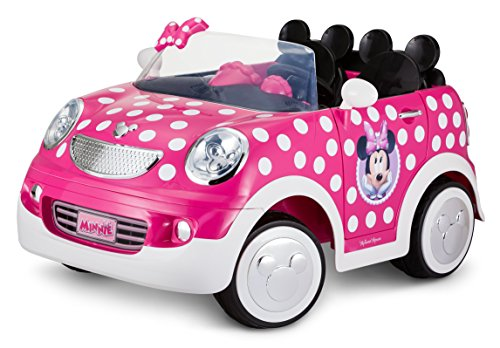 (Disney Minnie Mouse Hot Rod Coupe 12 Volt by Pacific Cycle)