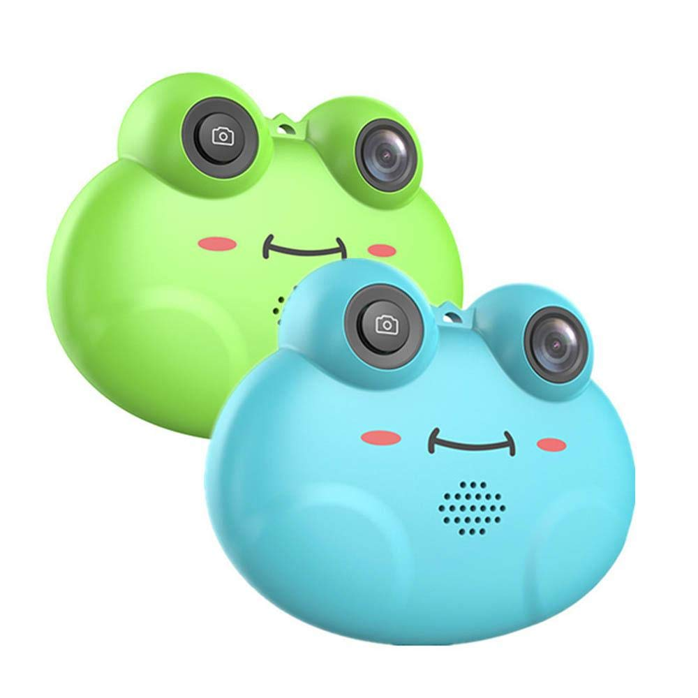 TEEPAO Child Camcorder, HD 1080P Frog Child Toy Camera with Neck Strap, Soft Silicone and Lightweight, Children Selfie Toy Camera for Boys and Girls by TEEPAO (Image #7)