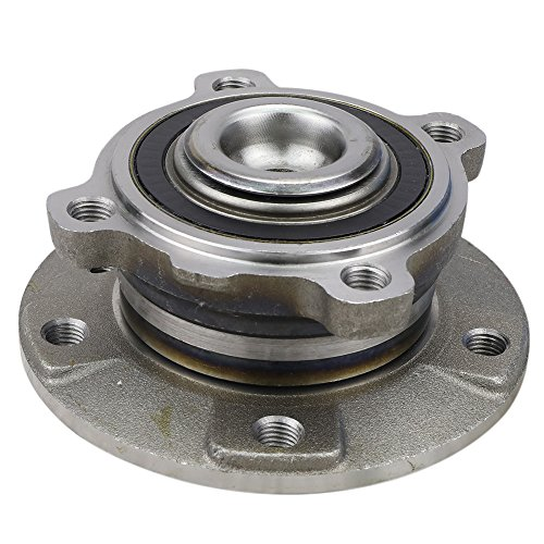 CRS NT513210 New Wheel Bearing Hub Assembly, Front Left (Driver)/Right (Passenger), for 2004-2010 BMW 645CI/650i/525i/528i/530i/535i/535i GT/545i/550i (525i Bmw Front Wheel)