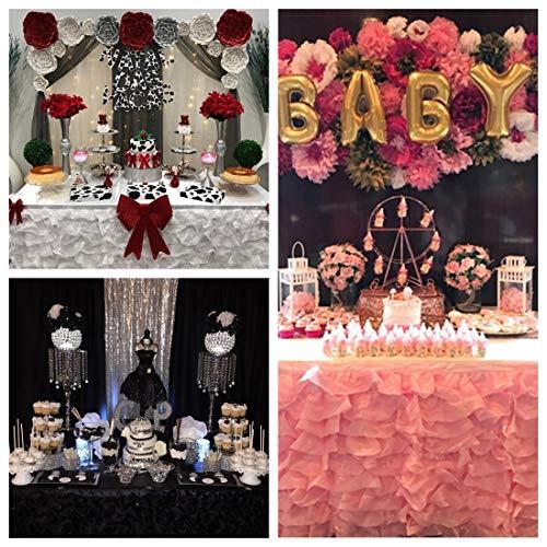 Buy wedding cake table skirt