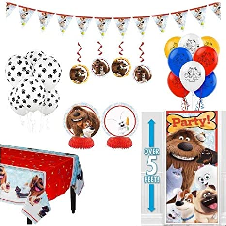 Amazon Secret Life Of Pets Birthday Party Decorations Balloons
