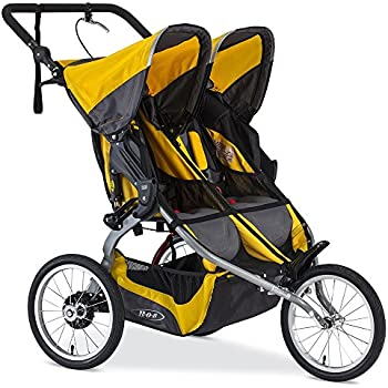 BOB 2016 Ironman Duallie Jogging Stroller, Yellow