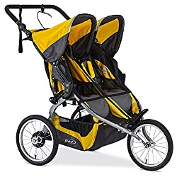 BOB 2016 Ironman Duallie Jogging Stroller Yellow