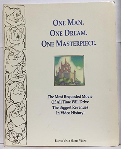 One Man. One Dream. One Masterpiece.: The Most Requested Movie of All Time Will Drive the Biggest Revenues in Video History! (The 1994 Profit Plan, Third and Fourth Quarter) (Buena Vista Drive)