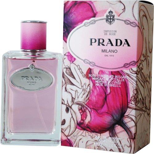 (Prada Infusion de Rose Eau de Parfum Spray for Women, 3.4 Ounce)