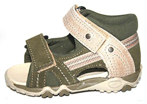 Juge 75.2314.2861 sandales pour fille/garçon-vert olive/beige-taille 20