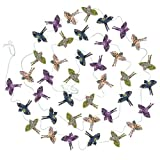 PAPER BIRDS FLYING GARLAND MYSTIC 4x60''L