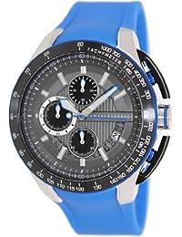 Armani Exchange Men's AX1410 Blue Silicone Quartz Watch