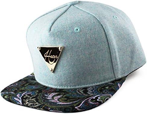 Hater Chambray Paisley Snapback Hat - Gorra para niño: Amazon.es ...