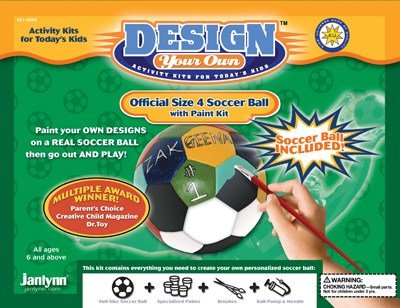 Design Your Own Soccer Ball Kit (Design Your Own Soccer Ball)