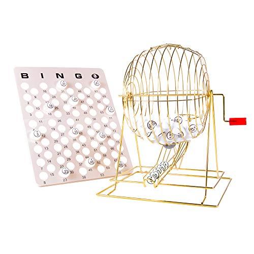 MR CHIPS Professional Bingo Cage Set (19