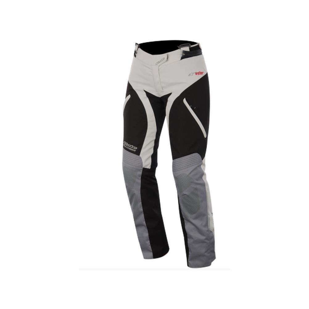 Alpinestars Andes Women's Sports Bike Motorcycle Pants - Gray/Black / Size Large