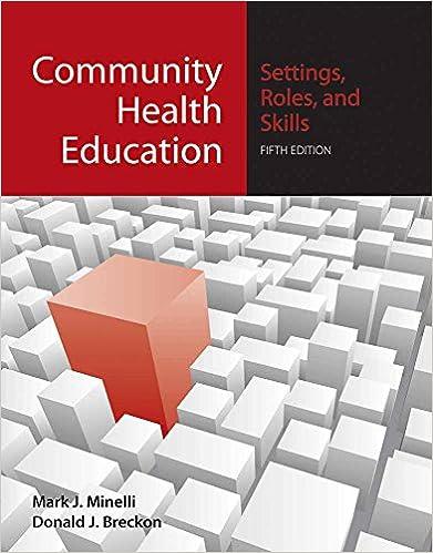 Community Health Education Settings Roles And Skills Settings Roles And Skills 9780763754105 Medicine Health Science Books Amazon Com
