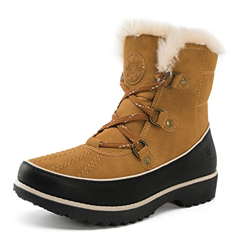 Global Win GLOBALWIN Womens Fur Trek Winter Boots 1728camel uzJDnr