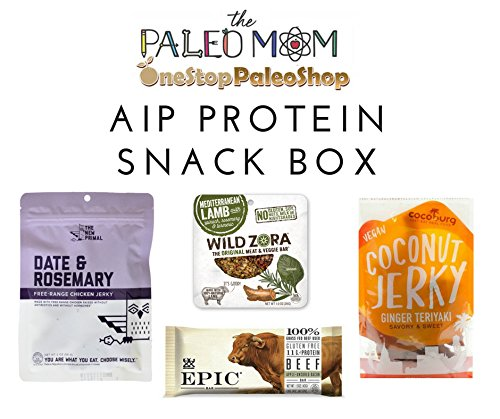 The Paleo Mom & OneStopPaleoShop - AIP Autoimmune Protocol Protein Snack Pack