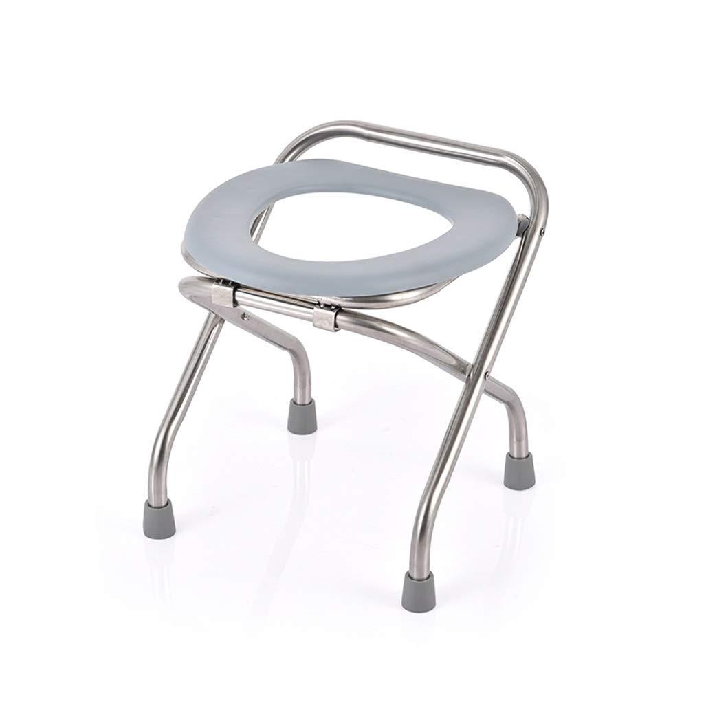 Stainless Steel Non-Slip Bath Chair, Light Shower Stool, Suitable for Pregnant Women and The Elderly
