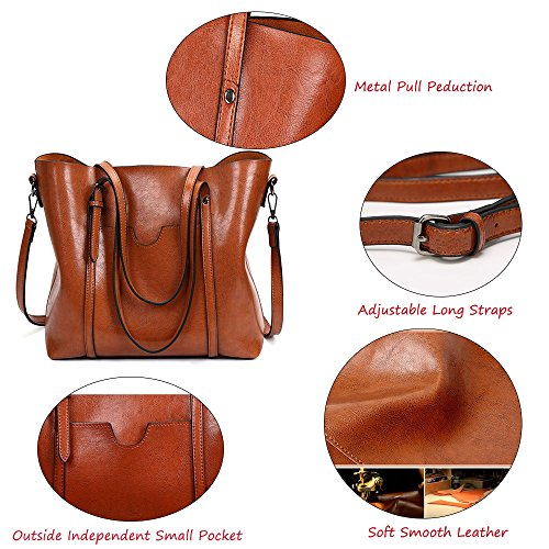 FiveloveTwo Crossbody Hobo Handbags Shoulder Satchel Top Clutch Handle Tote Ladies Shopper Women Bags All Black for Purse Bags match q0CnrSqp
