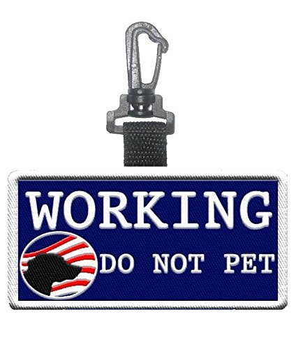 Working Clip Identification Hanging Patch