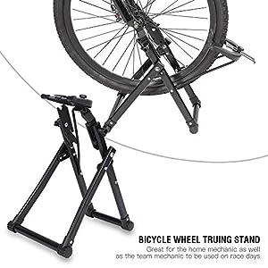 """51YA5di15kL. SS300 GOTOTO Cavalletto Bici Bicicletta Ruota,Basamento di Manutenzione Meccanico cavalletto di Sostegno per 24"""" 26"""" 28"""" Montagna Bicicletta Strada Pieghevole Biciclette"""
