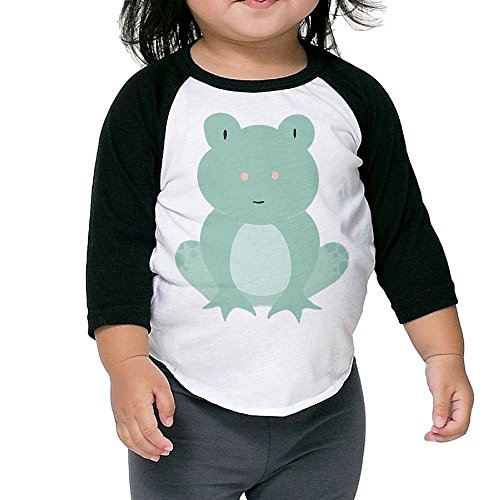 Newborn Tree Frog Costume (Leaping Frog Kid's Sleeve Raglan Clothes Unisex 3 Toddler Fashion)