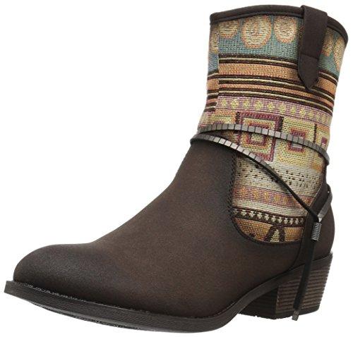 Roper Women's Taos Western Boot Tan SoqfM