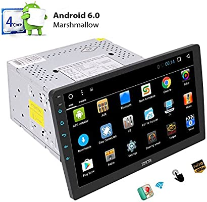 Amazon.com: Reproductor de DVD con GPS para coche con ...