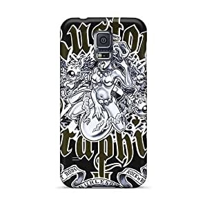 Perfect Hard Cell-phone Case For Samsung Galaxy S5 With Customized Beautiful Nirvana Image IanJoeyPatricia