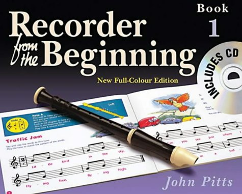 REC FROM BEGIN COLOR ED PUPILS BK 1 2004 BK/CD (Recorder from the Beginning) - Rec Cd