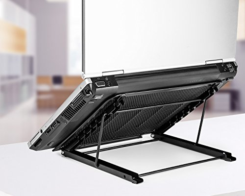Halter Mesh Ventilated Adjustable Laptop Stand for Laptop ...
