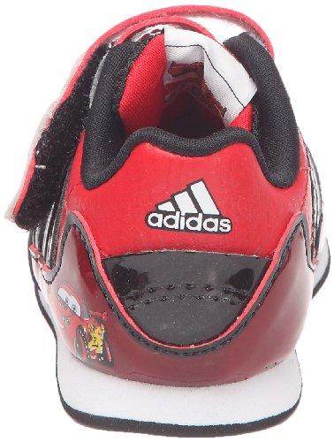 adidas Disney Cars 2 Cf I - Zapatos de primeros pasos Unisex Niños Rojo - rojo / negro / blanco