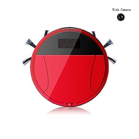 INTELZY Robot Aspirador, Barre y Aspira El Suelo y Alfombra con ...