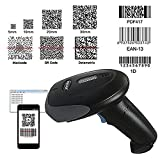 NYEAR Handheld Wireless 2 in 1 Bluetooth 4.0 & USB Barcode Scanner Deal (Small Image)