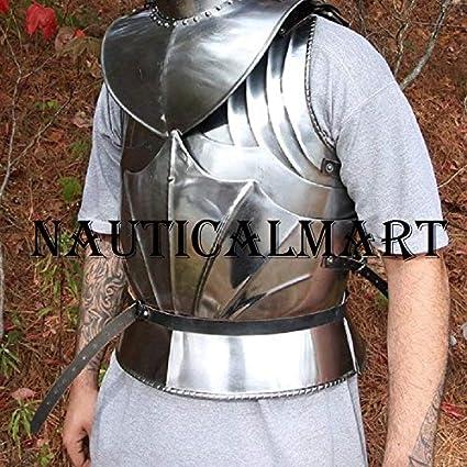 Amazon.com: Nauticalart Armor - Chaqueta de cuerpo gótico ...