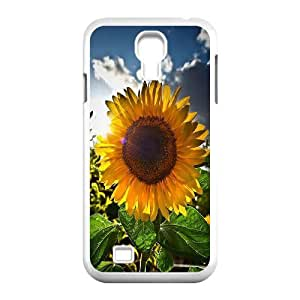 linJUN FENGSunflower Customized Cover Case for SamSung Galaxy S4 I9500,custom phone case ygtg562123