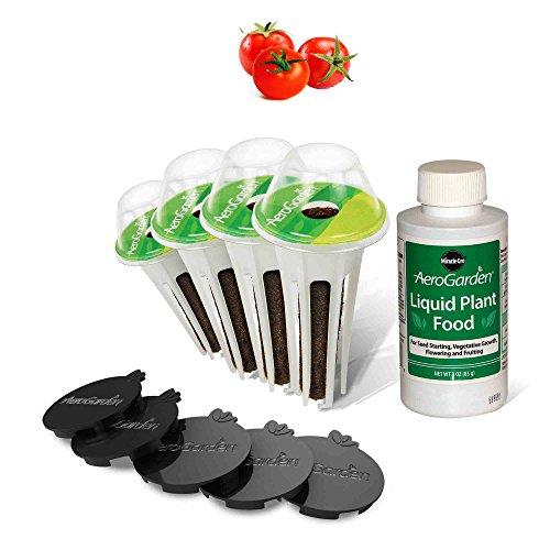 AeroGarden Red Heirloom Cherry Tomato Kit for Bounty Models (Kit Tomato Plant)